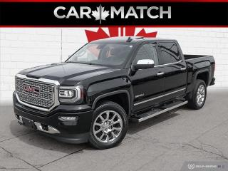 Used 2017 GMC Sierra 1500 DENALI / NO ACCIDENTS / CREW / NAV / ROOF for sale in Cambridge, ON