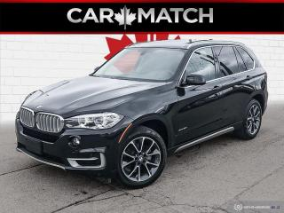 Used 2018 BMW X5 xDrive35i / NAV / ROOF / NO ACCIDENTS for sale in Cambridge, ON