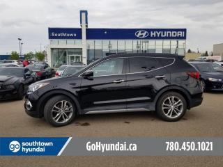 Used 2017 Hyundai Santa Fe Sport LIMITED/NAV/PANO ROOF/BLIND SPOT for sale in Edmonton, AB