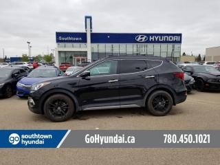 Used 2018 Hyundai Santa Fe Sport LIMITED/NAV/PANO ROOF/LEATHER/HEATED SEATS for sale in Edmonton, AB