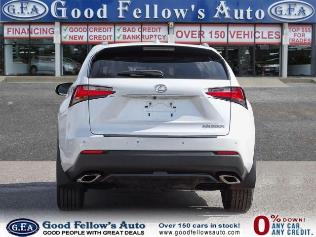 2017 Lexus NX 200t LUXURY PKG, AWD, SUNROOF, NAVI, REARVIEW CAMERA Photo5
