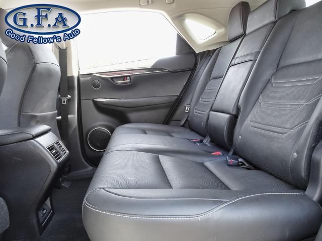 2017 Lexus NX 200t LUXURY PKG, AWD, SUNROOF, NAVI, REARVIEW CAMERA Photo11