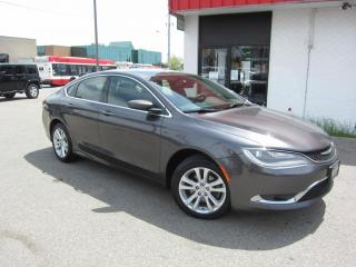 Used 2015 Chrysler 200 LIMITED $9,995+HST+LIC FEE / CLEAN CARFAX / CERTIFIED / NAVIGATION for sale in North York, ON
