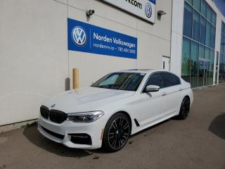 Used 2018 BMW 5 Series 540i xDrive - M SPORT for sale in Edmonton, AB