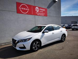 New 2021 Nissan Sentra SV/FWD/REOTE START/BACK UP CAM/BLUETOOTH for sale in Edmonton, AB