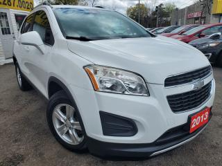Used 2013 Chevrolet Trax LT/AUTO/LOADED/BLUE TOOTH/ALLOYS/CLEAN CAR FAX for sale in Scarborough, ON