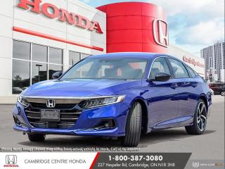 New 2021 Honda Accord SE 1.5T REARVIEW CAMERA | HONDA SENSING TECHNOLOGIES | APPLE CARPLAY™ & ANDROID AUTO™ for sale in Cambridge, ON