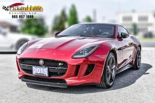 Used 2015 Jaguar F-Type R SPORT| LOADED WITH CARBON||RED ON RED!! for sale in Bolton, ON