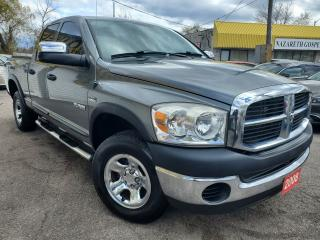 Used 2008 Dodge Ram 1500 ST/4WD/QUAD CAP/LOADED/RUNNING BOARDS/ALLOYS for sale in Scarborough, ON