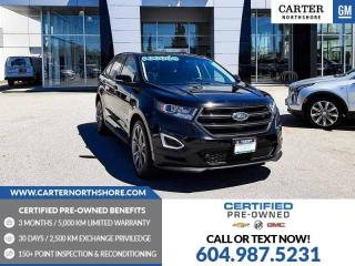 Used 2017 Ford Edge Sport NAVIGATION - MOONROOF - MEMORY SEAT for sale in North Vancouver, BC
