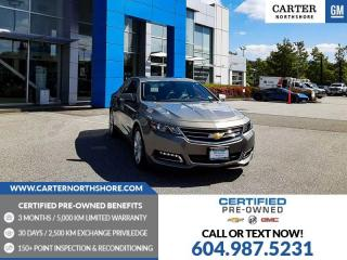 Used 2019 Chevrolet Impala 1LT SUNROOF - HEATED PWR FRT SEATS - HEATED STEERING WHEEL for sale in North Vancouver, BC