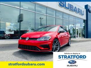 Used 2019 Volkswagen Golf R for sale in Stratford, ON