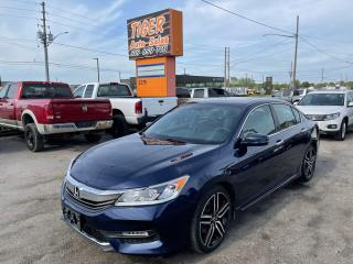Used 2016 Honda Accord Sport*ROOF*AUTO*4 CYLINDER*DUAL SCREEN*CERTIFIED for sale in London, ON