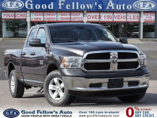 Used 2014 RAM 1500 ST MODEL, QUAD CAB, 4WD, REARVIEW CAMERA, 6 PASS for sale in Toronto, ON