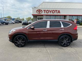 Used 2015 Honda CR-V Touring AWD NAVIGATION for sale in Cambridge, ON