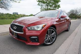 Used 2014 Infiniti Q50 1 OWNER / SPORT / STUNNING SHAPE / AWD / LOCAL CAR for sale in Etobicoke, ON