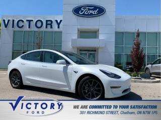 Used 2020 Tesla Model 3 Long Range | 3.99% | LEATHER | PANOROOF for sale in Chatham, ON