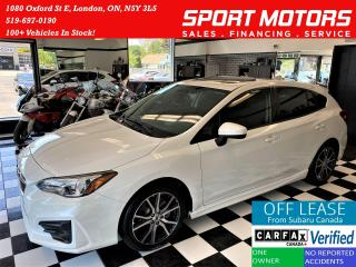 Used 2017 Subaru Impreza Sport AWD+Roof+New Tires+Brakes+CLEAN CARFAX for sale in London, ON