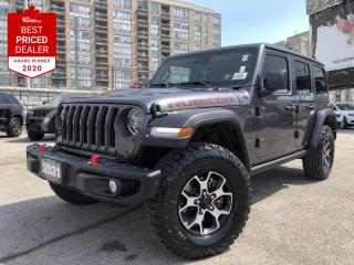 New 2021 Jeep Wrangler Unlimited Rubicon for sale in North York, ON