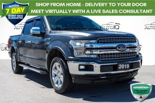 Used 2019 Ford F-150 Lariat PANORAMIC SUNROOF HEATED/COOLED LEATHER for sale in Innisfil, ON