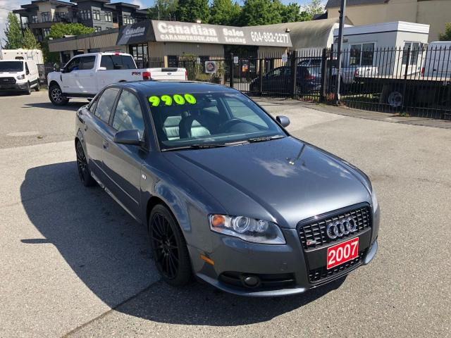 2007 Audi A4 S-LINE 2.0L 200HP 6 SPD AUTO