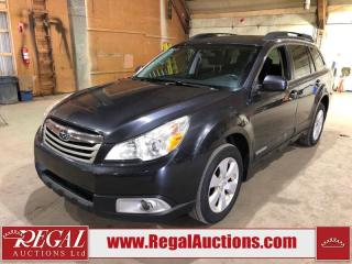 Used 2011 Subaru Outback 2.5I 4D Wagon AT 2.5L for sale in Calgary, AB