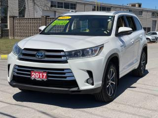 Used 2017 Toyota Highlander Hybrid XLE Navigation /Sunroof /Leather /Camera for sale in North York, ON