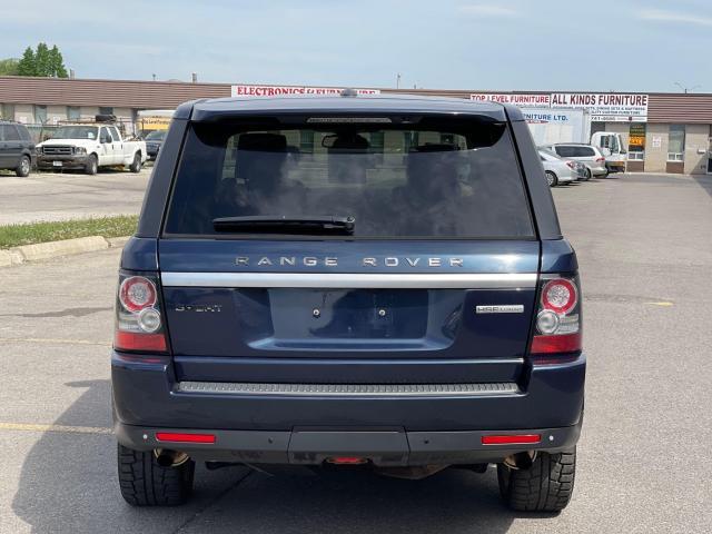 2012 Land Rover Range Rover Sport Luxury  AWD NAVIGATION /SUNROOF /CAMERA Photo6