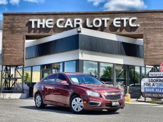 Used 2016 Chevrolet Cruze Limited 1LT SUNROOF!! BACK-UP CAMERA!! BLUETOOTH!! for sale in Sudbury, ON