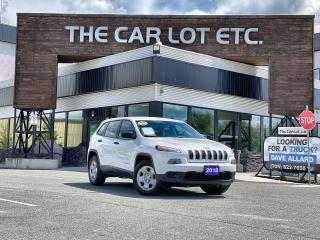 Used 2018 Jeep Cherokee Sport SELEC-TERRAIN!! BLUETOOTH!! for sale in Sudbury, ON