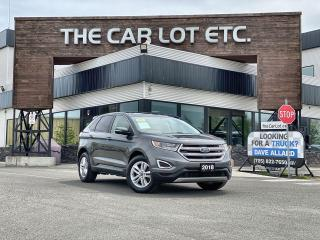 Used 2018 Ford Edge SEL LEATHER!! SUNROOF!!! NAVIGATION!! HEATED SEATS!! BACK-UP CAM!! for sale in Sudbury, ON