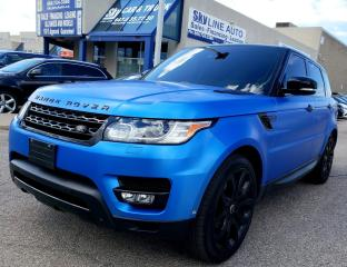 Used 2015 Land Rover Range Rover Sport V6 SE SPORT|SOFT CLOSE DOORS|PANOROOF|CERTIFIED for sale in Concord, ON