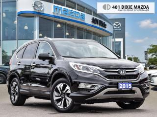 Used 2015 Honda CR-V Touring NAVIGATION| LEATHER SEATS| HEATED SEATS for sale in Mississauga, ON