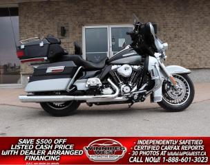 Used 2013 Harley-Davidson FLHTK Electra Glide Ultra Limited Ultra Limited LIKE NEW, LOW KM, LOCAL, LOTS OF EXTRAS *STUNNING* for sale in Headingley, MB