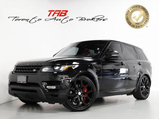 Used 2017 Land Rover Range Rover Sport V8 SC DYNAMIC I RED LTHR I PANO I 22 IN WHEELS for sale in Vaughan, ON
