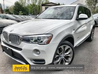 Used 2017 BMW X3 xDrive35i LOADED  HUD  DRIVER'S ASSIST  HK SOUND for sale in Ottawa, ON