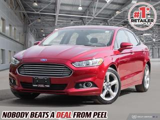 Used 2016 Ford Fusion SE AWD. SVT WHEELS. ALL WHEEL DRIVE. MINT! for sale in Mississauga, ON