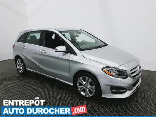 Used 2017 Mercedes-Benz B250 AWD - Bluetooth - Climatiseur - Cuir for sale in Laval, QC