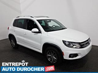 Used 2017 Volkswagen Tiguan Highline R line - Bluetooth - Climatiseur - Cuir for sale in Laval, QC