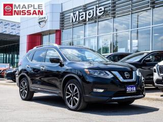 Used 2018 Nissan Rogue SL AWD Navi Blind Spot Pano Moonroof Apple Carplay for sale in Maple, ON