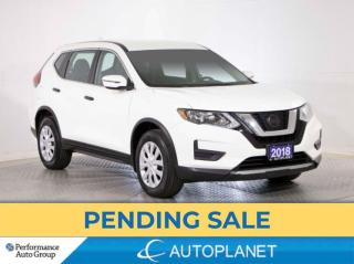 Used 2018 Nissan Rogue S, Back Up Cam, Apple CarPlay, New Rear Brakes! for sale in Brampton, ON