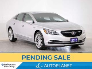 Used 2017 Buick LaCrosse Premium Group, Heads Up Display, Navi, Pano Roof! for sale in Brampton, ON
