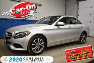 Used 2018 Mercedes-Benz C-Class 4MATIC PANORAMIC SUNROOF   NAVIGATION   PERFORMANCE LED for sale in Ottawa, ON