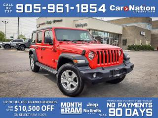 Used 2020 Jeep Wrangler Unlimited Sport S 4x4| COMPANY DEMO| SOLD| SOLD| SOLD| for sale in Burlington, ON