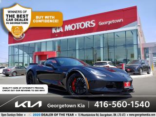 Used 2016 Chevrolet Corvette Z06 3LZ wZ07 | RAG TOP| 650HP |7 SPD M/T| NAV |15K for sale in Georgetown, ON