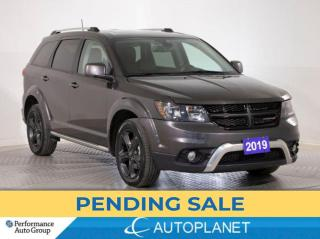 Used 2019 Dodge Journey Crossroad AWD,7-Seater,Flexible Seating Grp, Navi! for sale in Clarington, ON