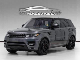 Used 2017 Land Rover Range Rover Sport V8 SC Dynamic, Autobiography, HUD, Dual Tone Leather for sale in Concord, ON