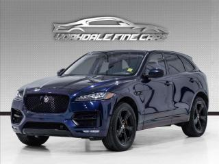 Used 2018 Jaguar F-PACE 25t R-Sport, Navi, Pano, Red Leather Int for sale in Concord, ON