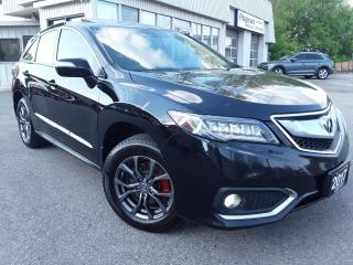 Used 2017 Acura RDX ELITE Package - LEATHER! NAV! BACK-UP CAM! BSM! SUNROOF! for sale in Kitchener, ON