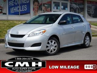 Used 2014 Toyota Matrix Base  BLUETOOTH S/W-AUDIO CC PWR-GROUP for sale in St. Catharines, ON